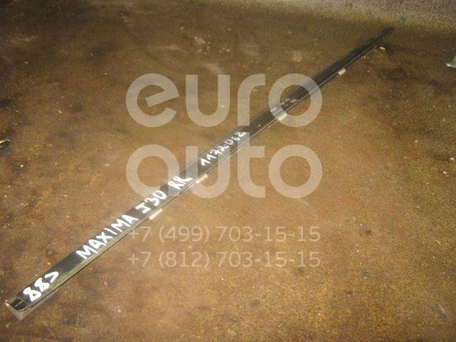 Накладка стекла заднего правого для Nissan Maxima (J30) 1988-1994 - Фото №1