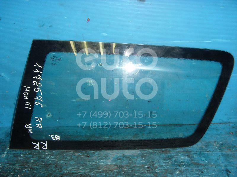 Стекло кузовное глухое правое для Ford Mondeo III 2000-2007 - Фото №1