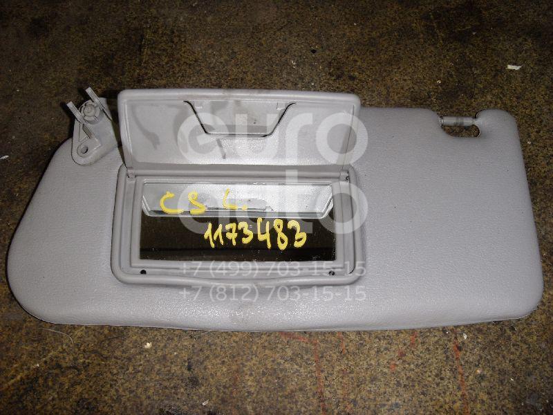 Козырек солнцезащитный (внутри) для Mitsubishi Lancer (CS/Classic) 2003-2008 - Фото №1