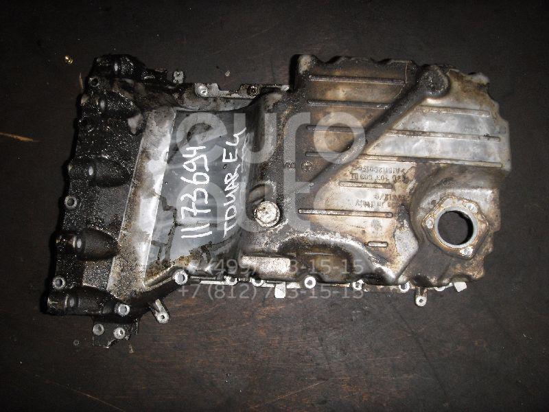 Поддон масляный двигателя для VW Touareg 2002-2010 - Фото №1