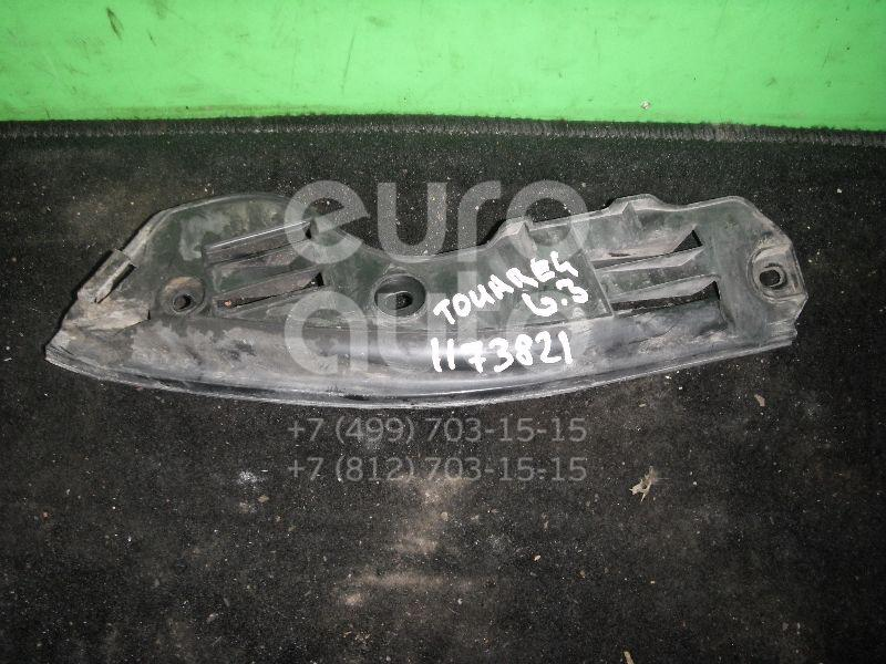 Направляющая заднего бампера левая для VW Touareg 2002-2010 - Фото №1