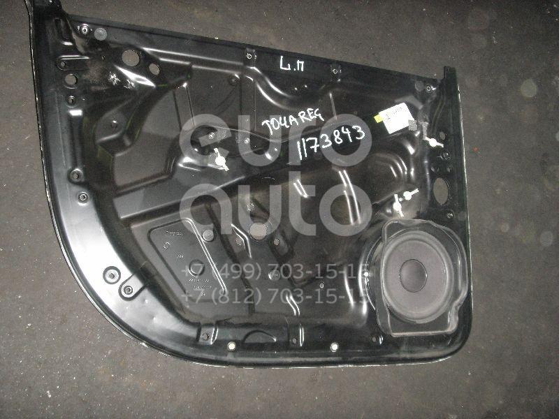 Щит опорный передний левый для VW Touareg 2002-2010 - Фото №1