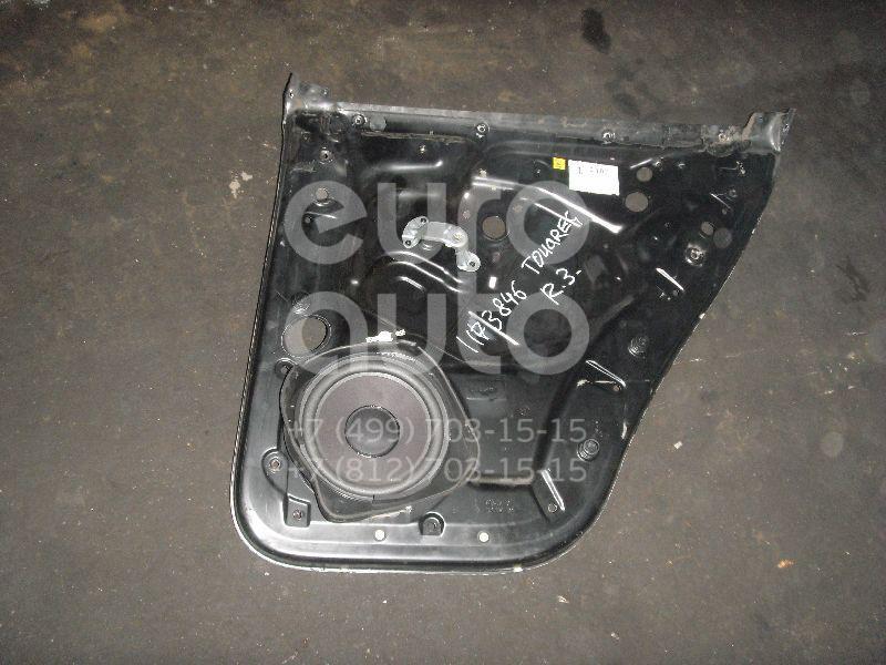 Щит опорный задний правый для VW Touareg 2002-2010 - Фото №1