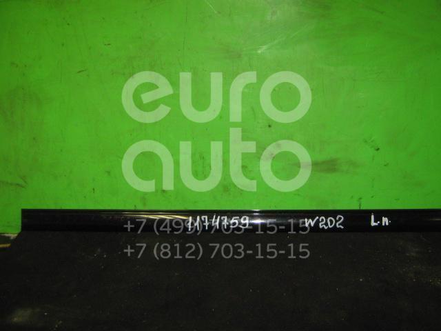 Молдинг передней левой двери для Mercedes Benz W202 1993-2000 - Фото №1