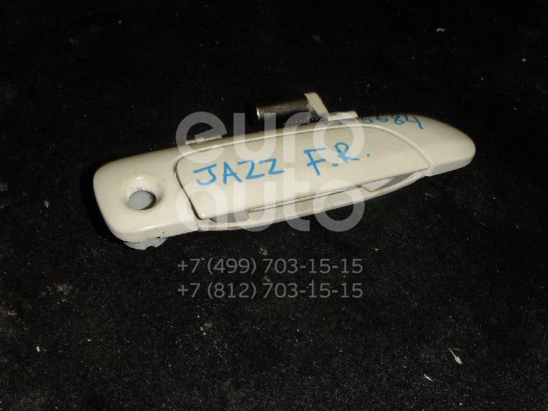 Ручка двери передней наружная правая для Honda Jazz 2002-2008 - Фото №1
