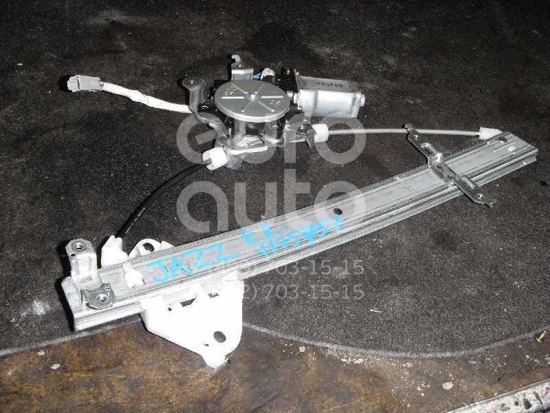 Стеклоподъемник электр. задний правый для Honda Jazz 2002-2008 - Фото №1