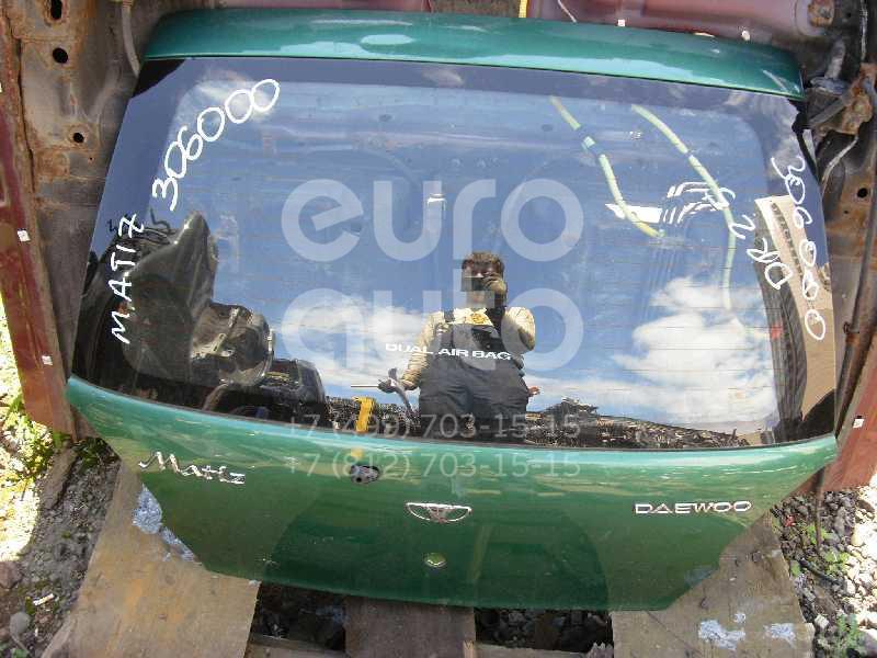 Дверь багажника со стеклом для Daewoo Matiz (KLYA) 1998> - Фото №1