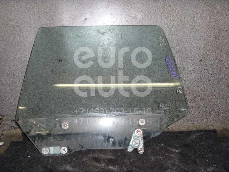 Стекло двери задней левой для Subaru Forester (S10) 1997-2000;Forester (S10) 2000-2002 - Фото №1