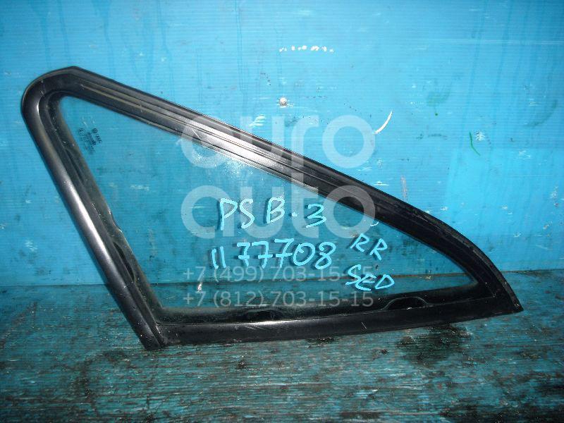 Стекло кузовное глухое правое для VW Passat [B3] 1988-1993 - Фото №1
