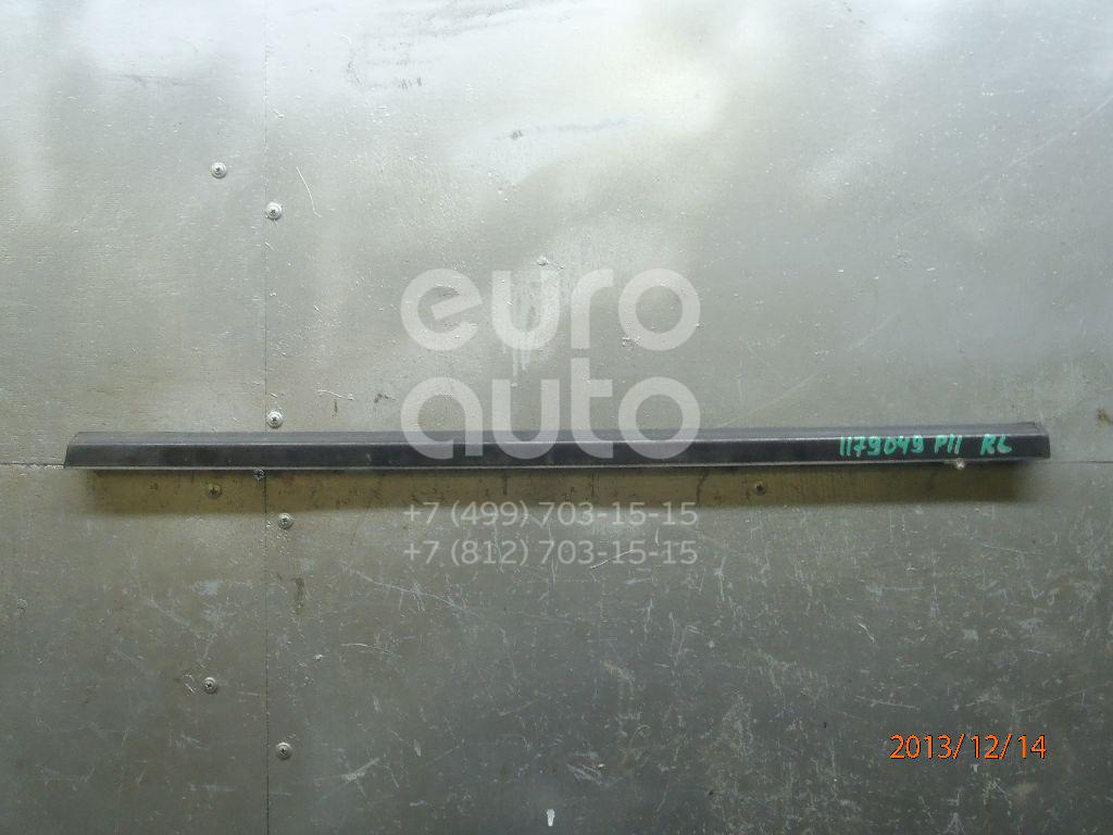 Накладка стекла заднего левого для Nissan Primera P11E 1996-2002;Primera WP11E 1998-2001 - Фото №1
