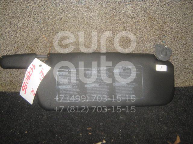 Козырек солнцезащитный (внутри) для Toyota Carina E 1992-1997 - Фото №1