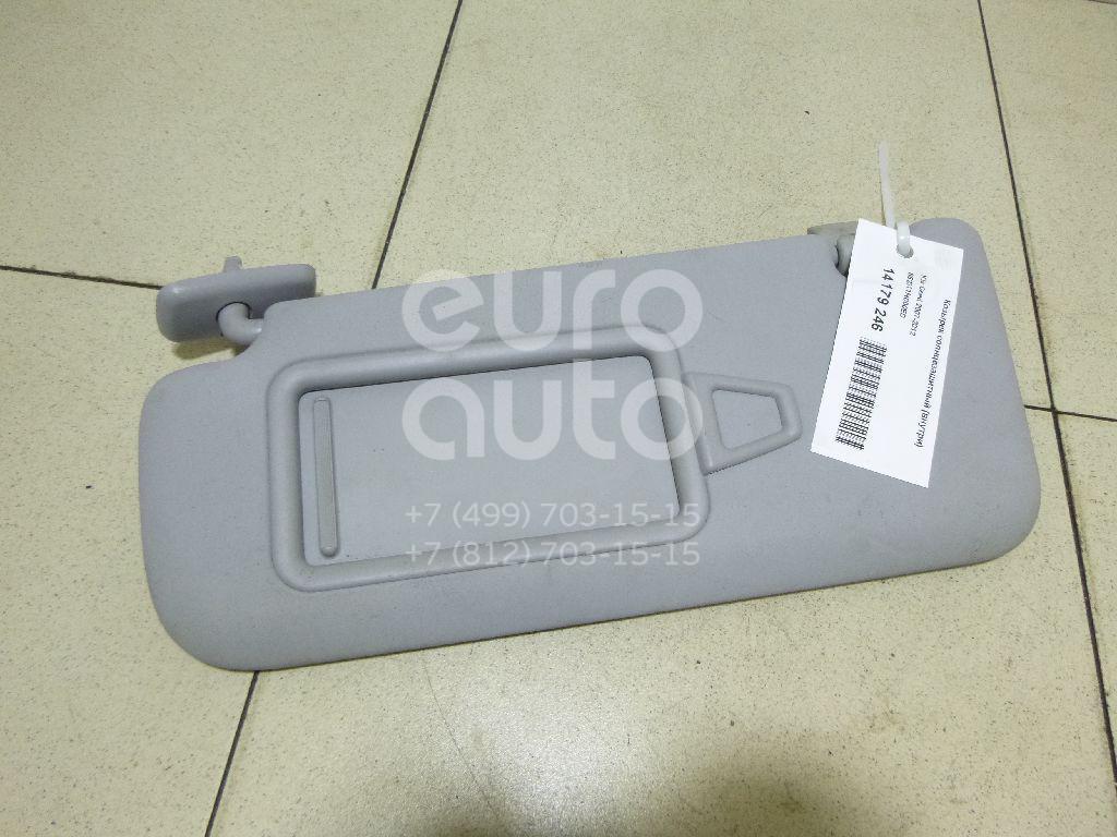 Козырек солнцезащитный (внутри) Kia Ceed 2007-2012; (852011H000ED)