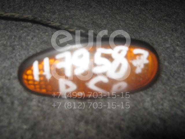 Повторитель на крыло желтый для Mitsubishi Pajero/Montero Sport (K9) 1997-2008;3000 GT 1990-2000;Galant (E5) 1993-1997;Sigma 1991-1996;Space Wagon (N3,N4) 1991-2000;Space Wagon (N8,N9) 1998-2004;Space Runner (N1,N2) 1991-1999 - Фото №1