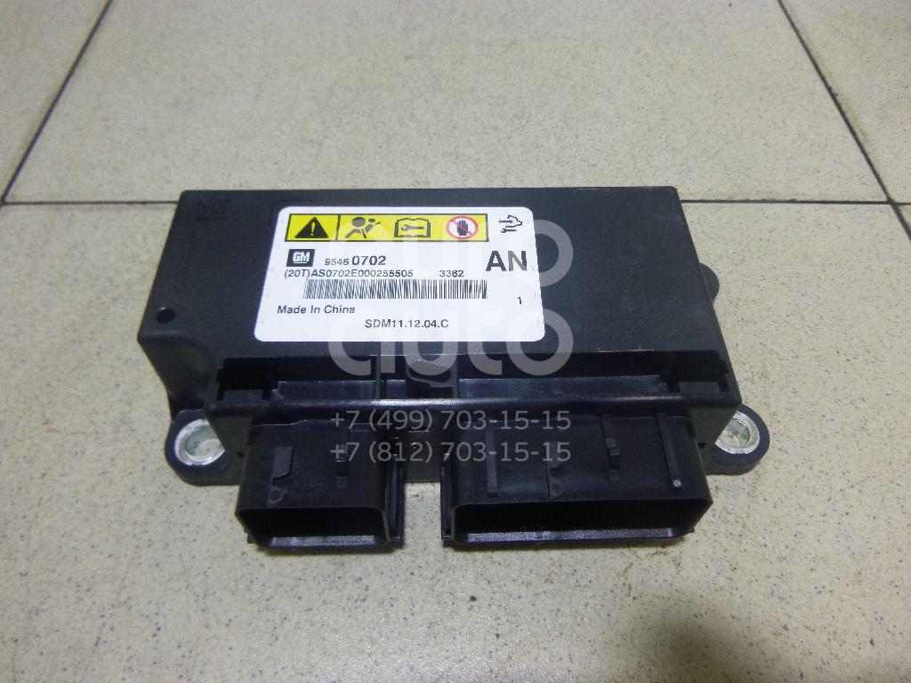 Блок управления AIR BAG Opel Antara 2007-2015; (95460702)  - купить со скидкой