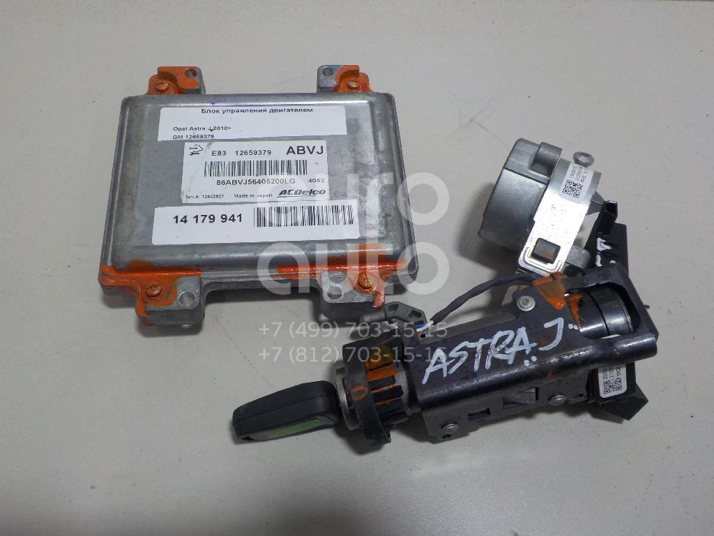 Блок управления двигателем Opel Astra J 2010-; (12659379)  - купить со скидкой