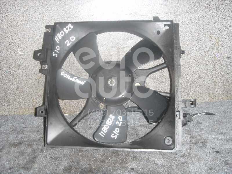 Вентилятор радиатора для Subaru Forester (S10) 2000-2002 - Фото №1