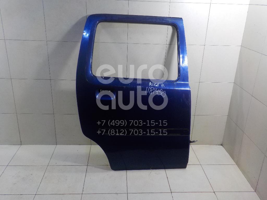 Дверь задняя правая для Opel Agila A 2000-2008 - Фото №1