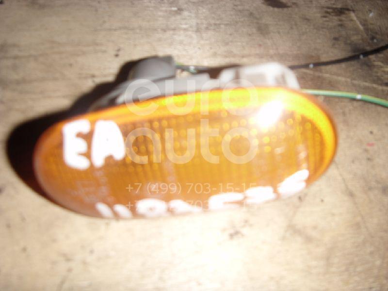 Повторитель на крыло желтый для Mitsubishi Galant (EA) 1997-2003;Lancer (CB) 1992-2000;Lancer (CK) 1996-2003;Colt 1992-1996;Colt (CJ) 1996-2004;Pajero/Montero II (V1, V2, V3, V4) 1997-2004 - Фото №1