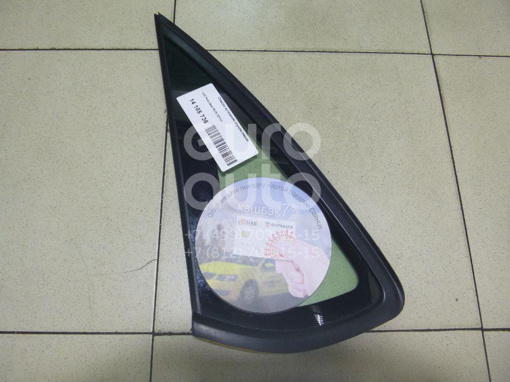 Купить Стекло кузовное глухое левое VW Polo (Sed RUS) 2011-; (6RU845297A)