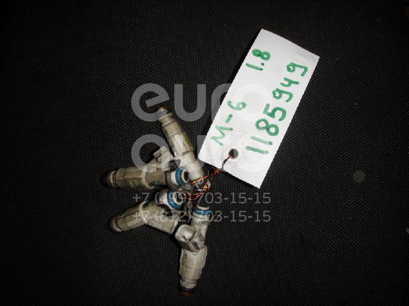 Форсунка инжекторная электрическая для Mazda Mazda 6 (GG) 2002-2007 - Фото №1