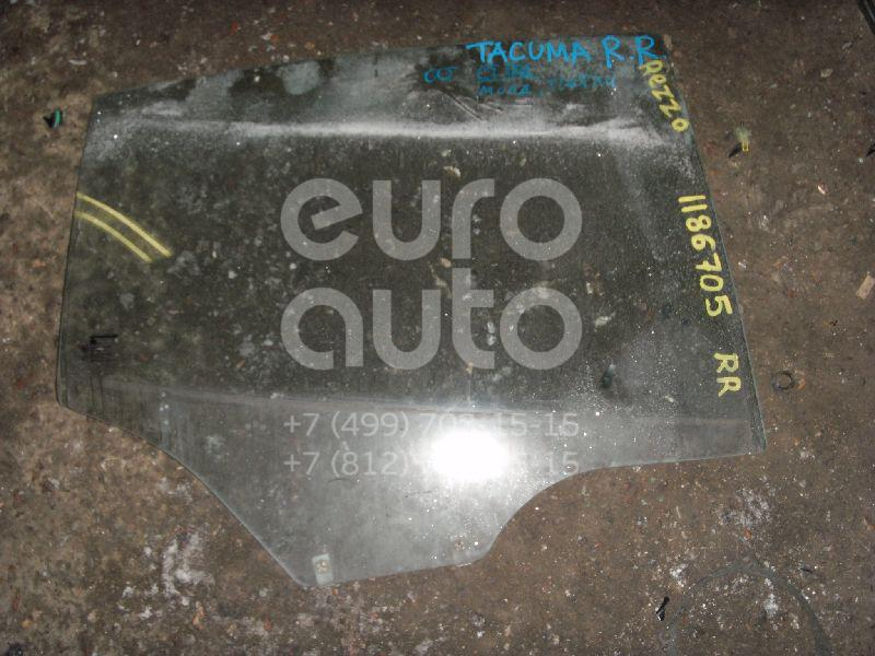 Стекло двери задней правой для Daewoo,Chevrolet Rezzo 2000-2011;Rezzo 2005-2010 - Фото №1