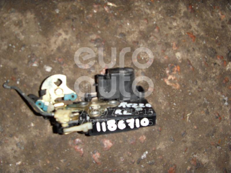 Замок двери задней левой для Daewoo,Chevrolet Rezzo 2000-2011;Aveo (T200) 2003-2008;Lacetti 2003-2013;Rezzo 2005-2010;Nubira 1999-2003;Gentra II 2013-2015 - Фото №1