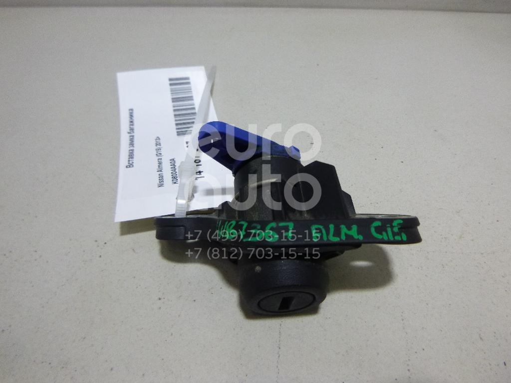 Купить Вставка замка багажника Nissan Almera (G15) 2013-; (K06004AA0A)
