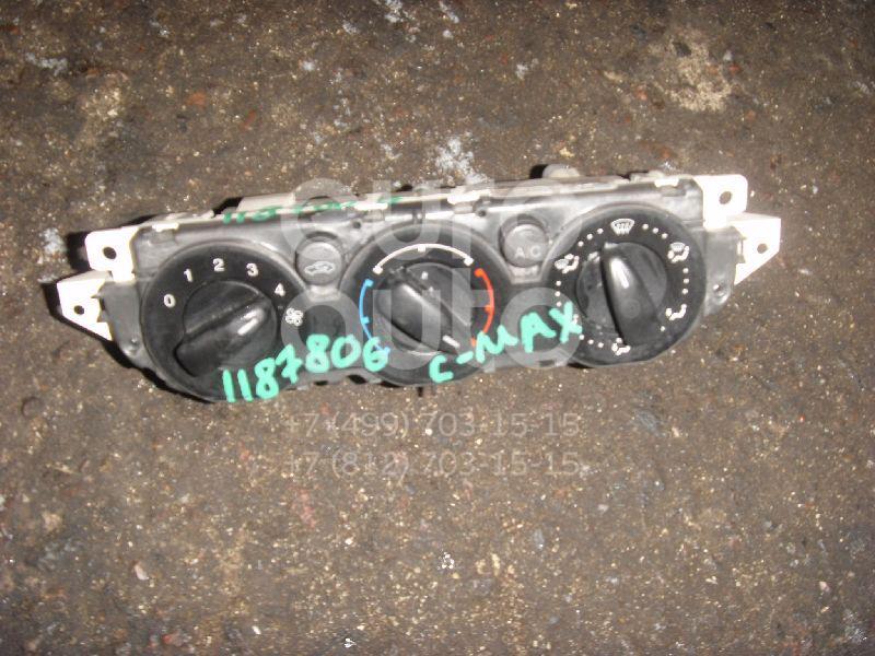 Блок управления отопителем для Ford C-MAX 2003-2010;Focus II 2005-2008;Focus II 2008-2011 - Фото №1