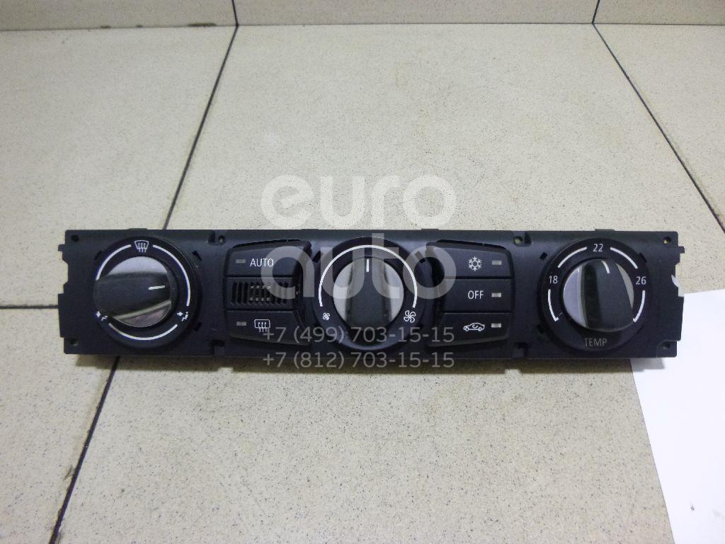 Купить Блок управления климатической установкой BMW 5-серия E60/E61 2003-2009; (64119160526)