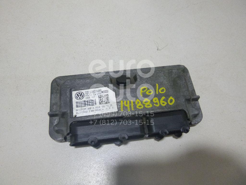 Купить Блок управления двигателем VW Polo (Sed RUS) 2011-; (03C906014B)