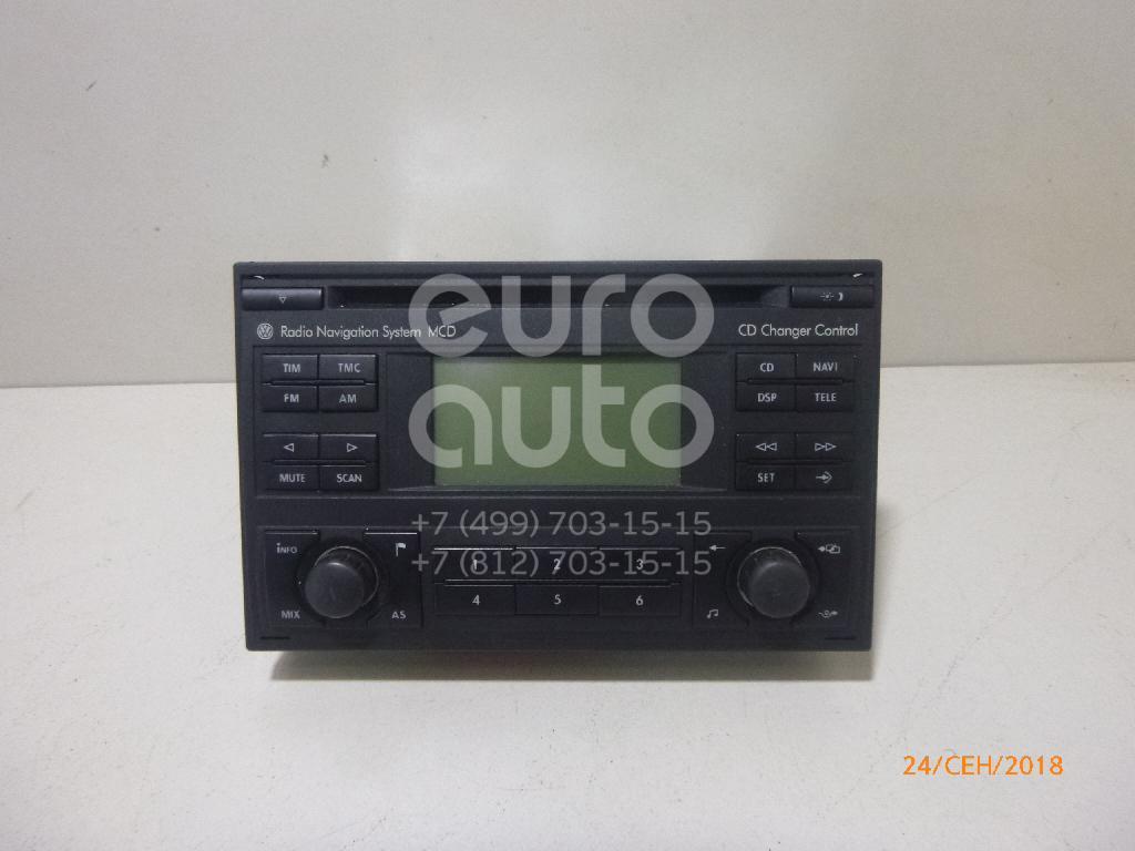 Купить Магнитола VW Passat [B5] 2000-2005; (1J0035191A)