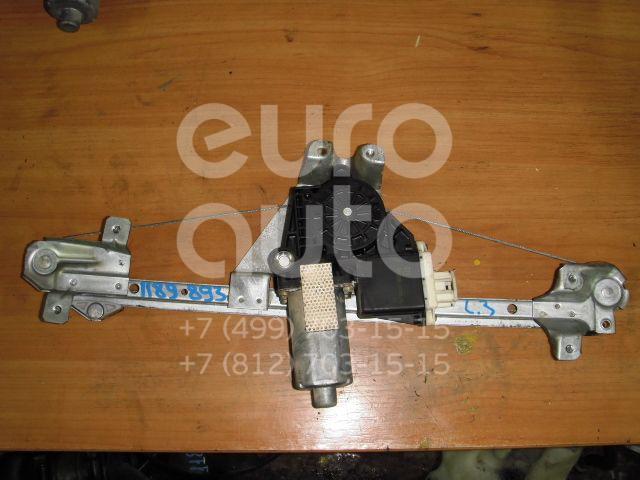 Стеклоподъемник электр. задний левый для Opel Omega B 1994-2003 - Фото №1