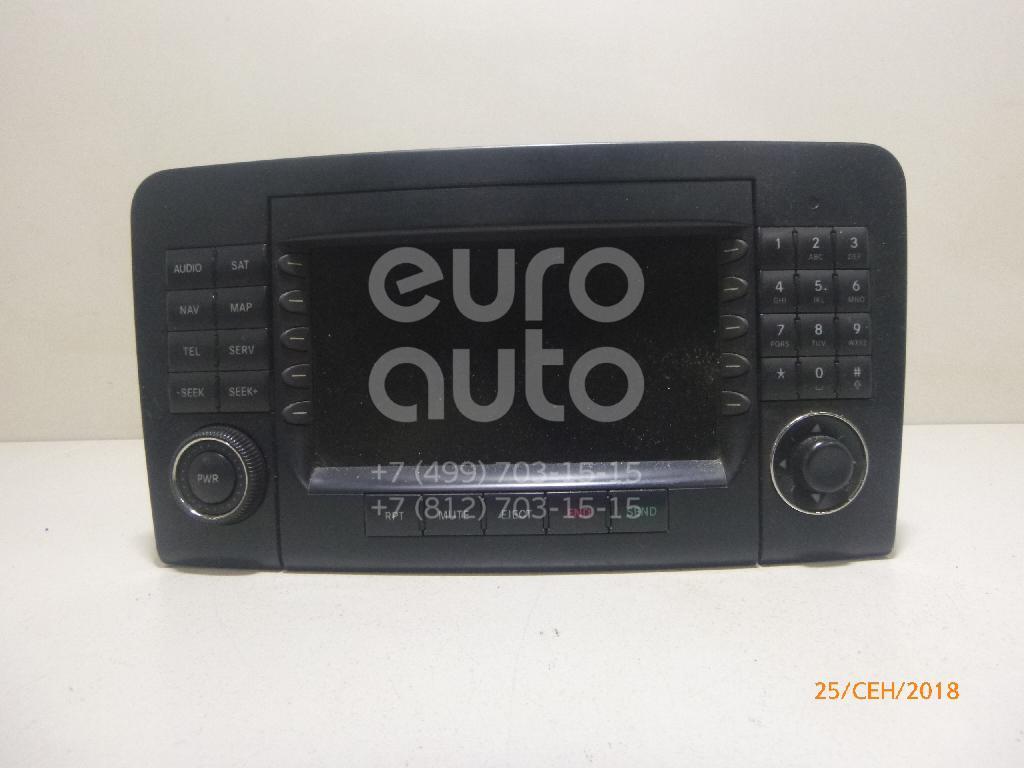 Купить Магнитола Mercedes Benz W164 M-Klasse (ML) 2005-2011; (1648200679)