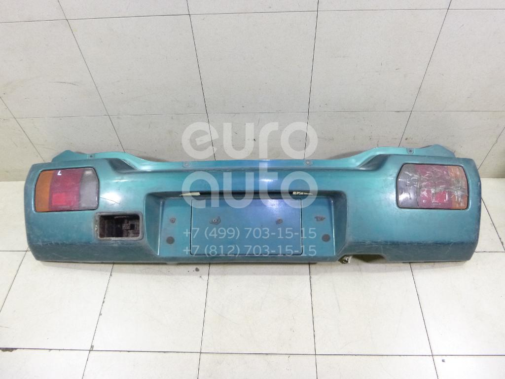 Бампер задний для Suzuki Wagon R+(EM) 1998-2000 - Фото №1