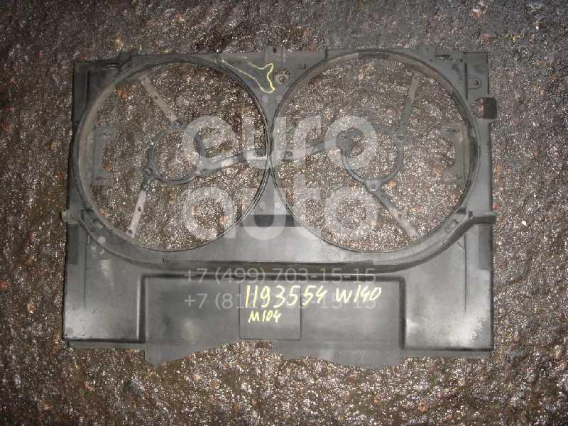 Диффузор вентилятора для Mercedes Benz W140 1991-1999 - Фото №1