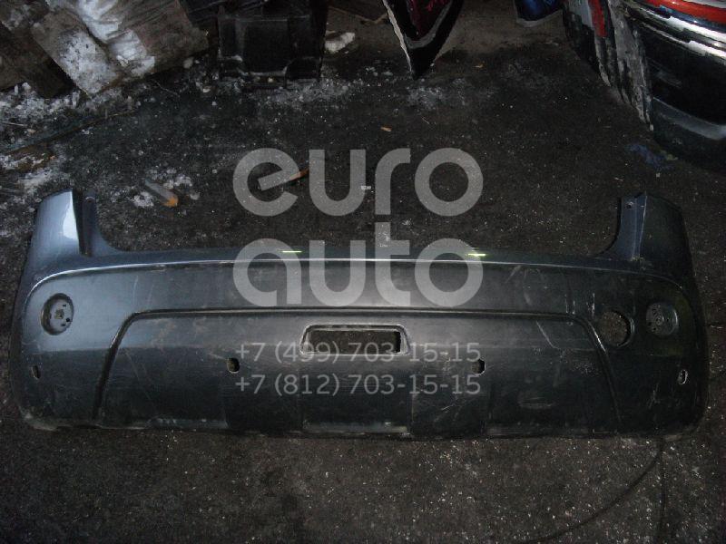 Бампер задний для Nissan Qashqai (J10) 2006-2014 - Фото №1