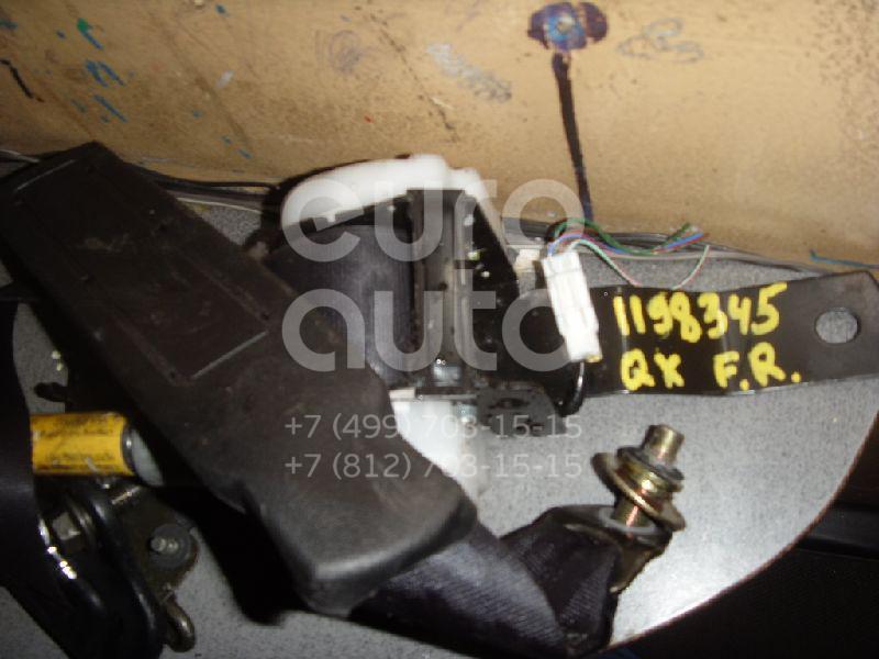 Ремень безопасности с пиропатроном для Nissan Maxima (A32) 1994-2000 - Фото №1