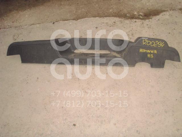 Накладка заднего бампера для Hummer H3 2005-2010 - Фото №1
