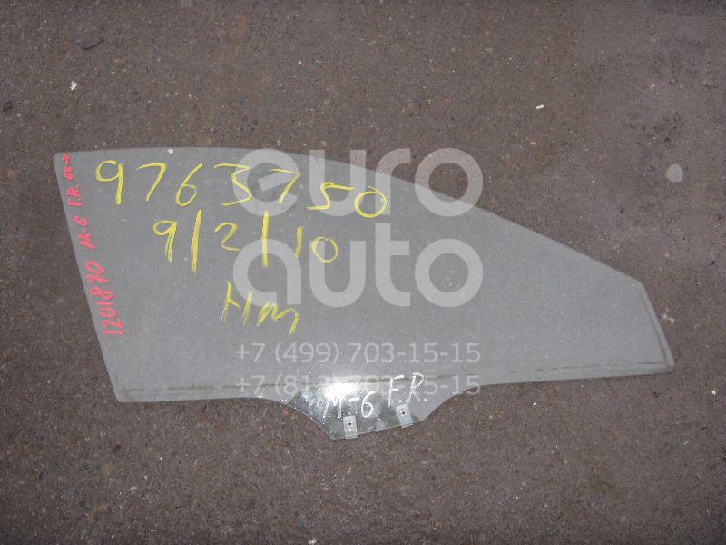 Стекло двери передней правой для Mazda Mazda 6 (GG) 2002-2007 - Фото №1