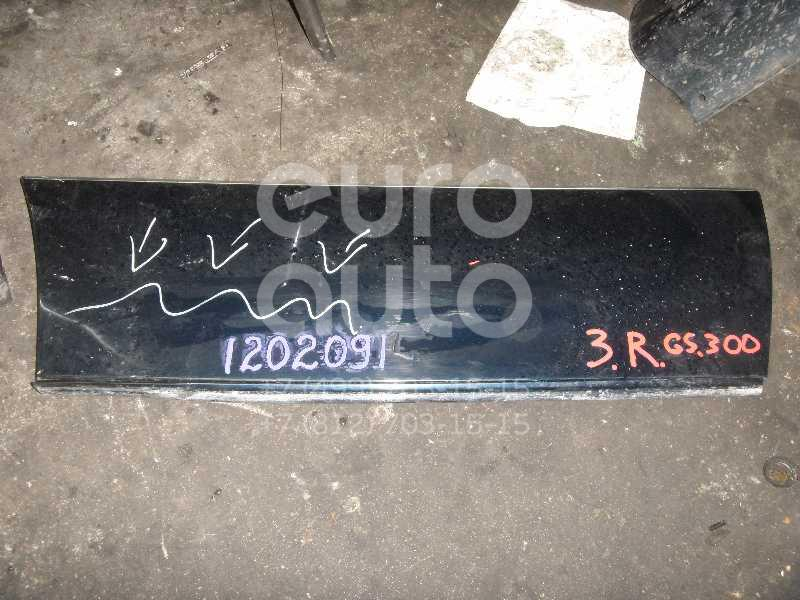 Накладка двери задней правой для Lexus GS 300/400/430 1998-2004 - Фото №1