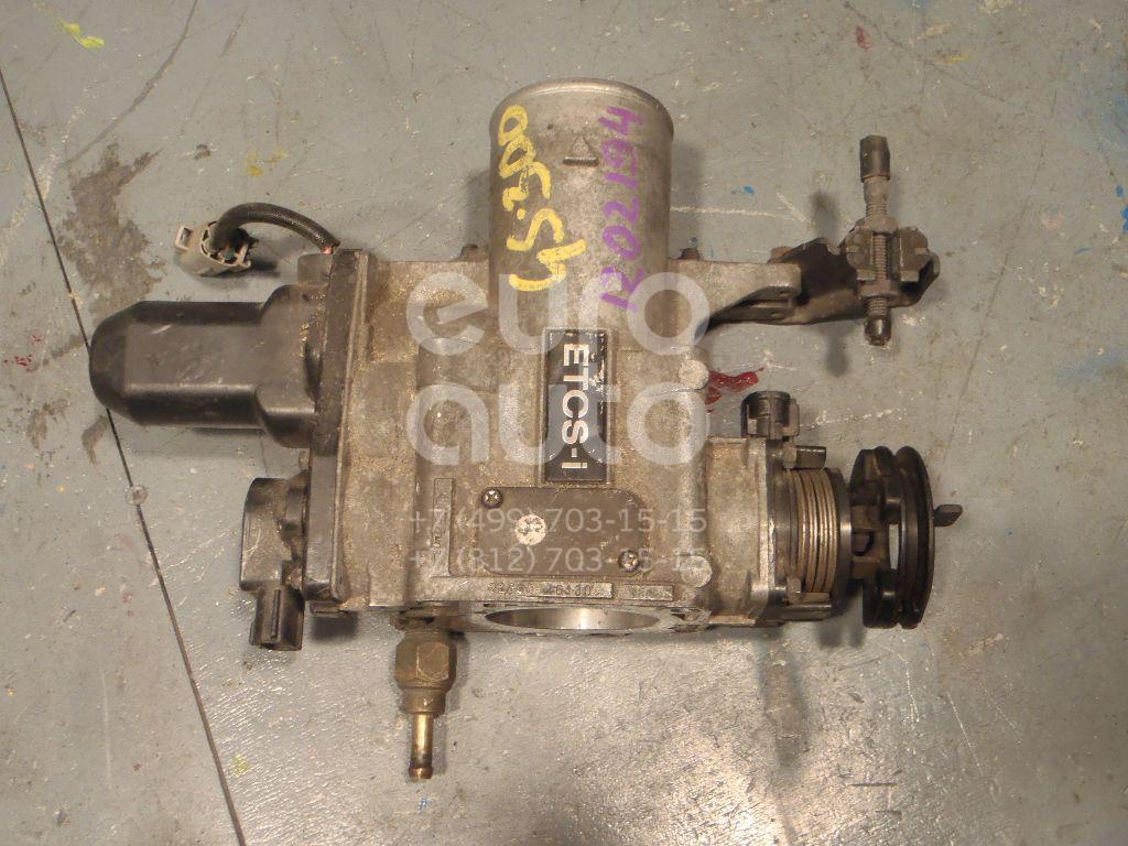 Заслонка дроссельная электрическая для Lexus GS 300/400/430 1998-2004 - Фото №1