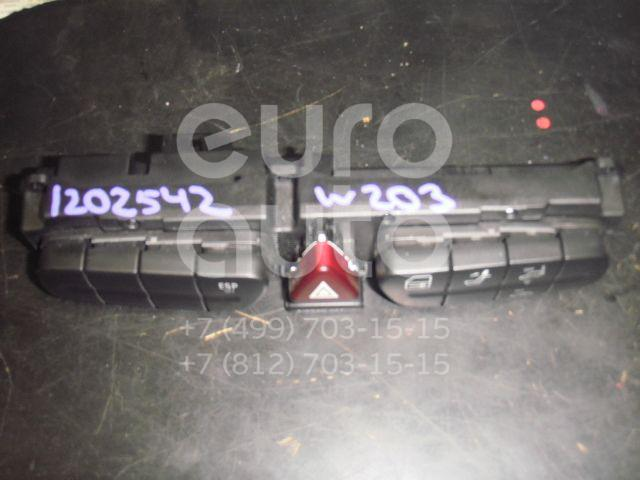 Блок кнопок для Mercedes Benz W203 2000-2006 - Фото №1