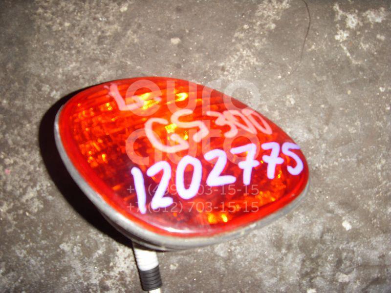 Фонарь задний внутренний левый для Lexus GS 300/400/430 1998-2004 - Фото №1