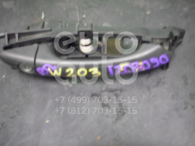 Ручка двери передней наружная правая для Mercedes Benz W203 2000-2006 - Фото №1