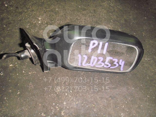 Зеркало правое механическое для Nissan Primera P11E 1996-2002 - Фото №1