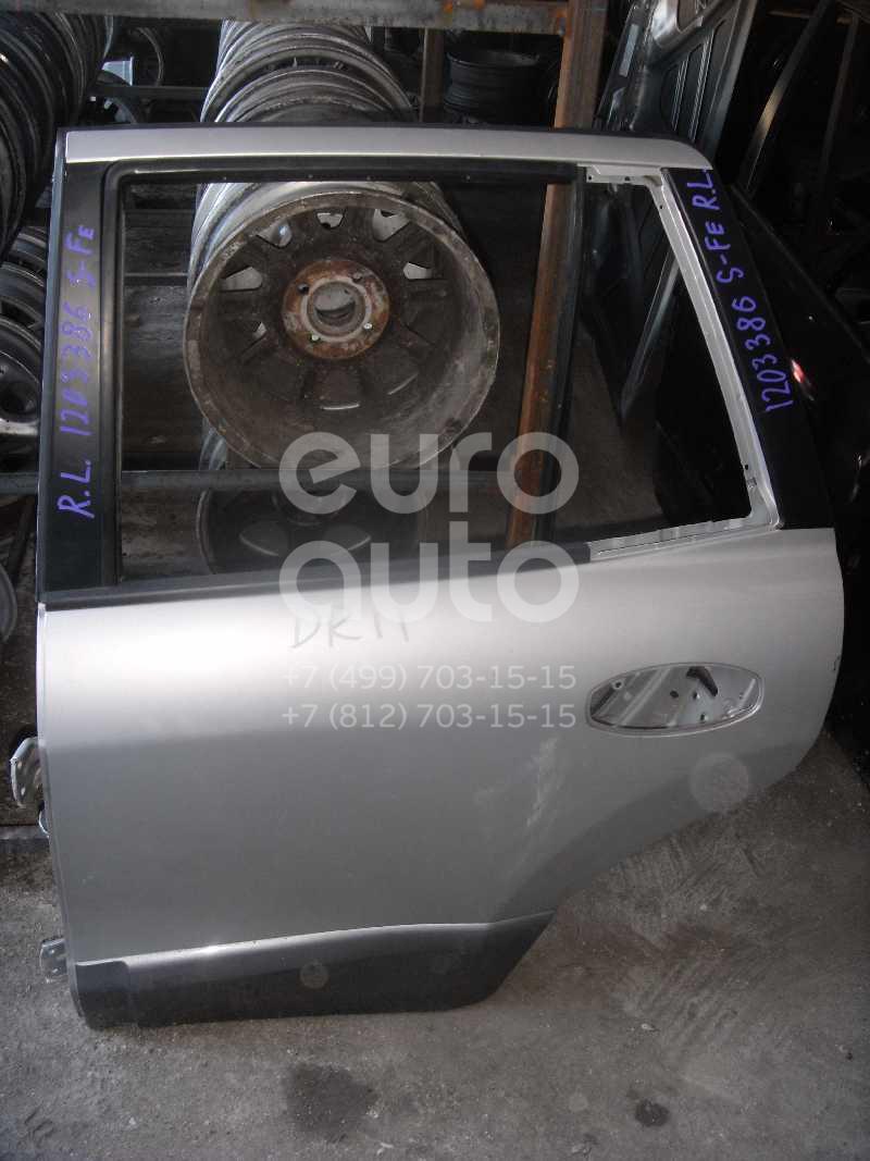 Купить Накладка двери задней левой Hyundai Santa Fe (SM)/ Santa Fe Classic 2000-2012; (8773126900)