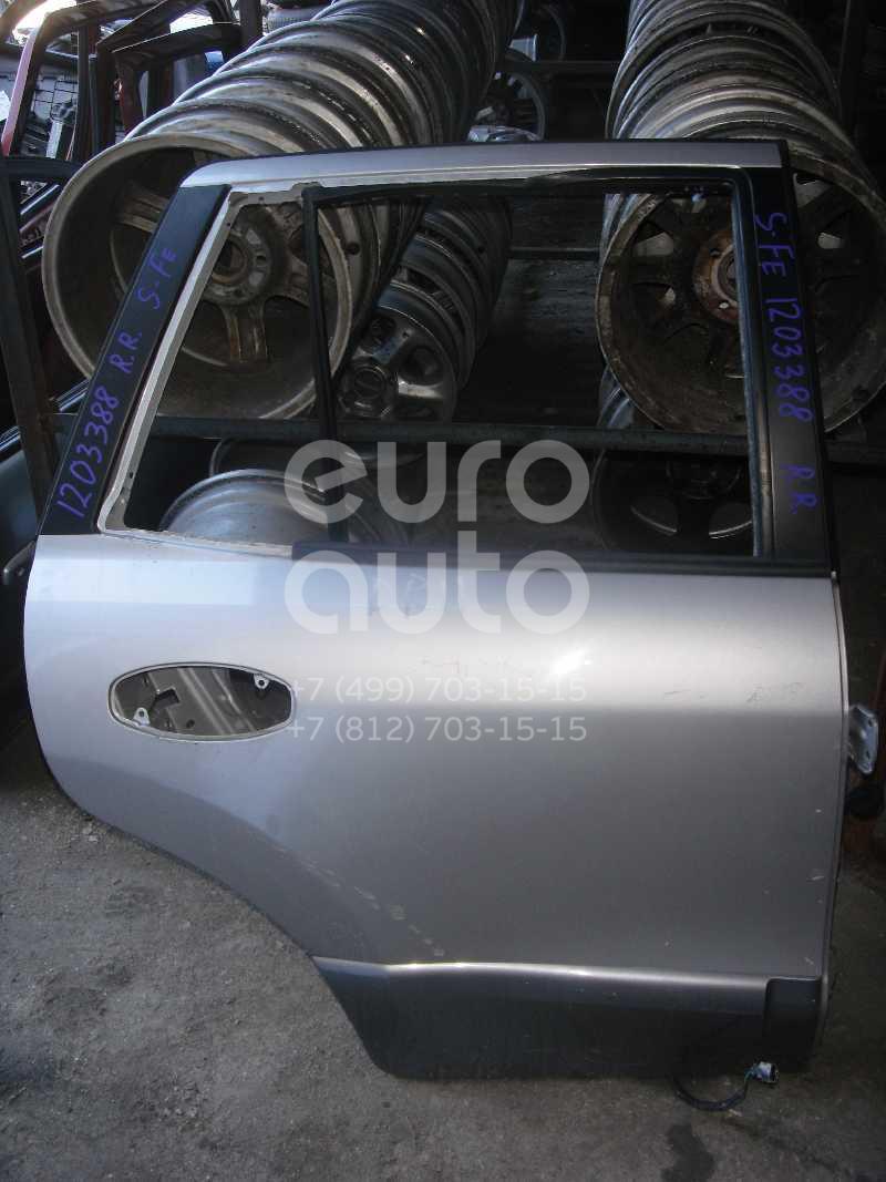 Накладка двери задней правой для Hyundai Santa Fe (SM) 2000-2005 - Фото №1