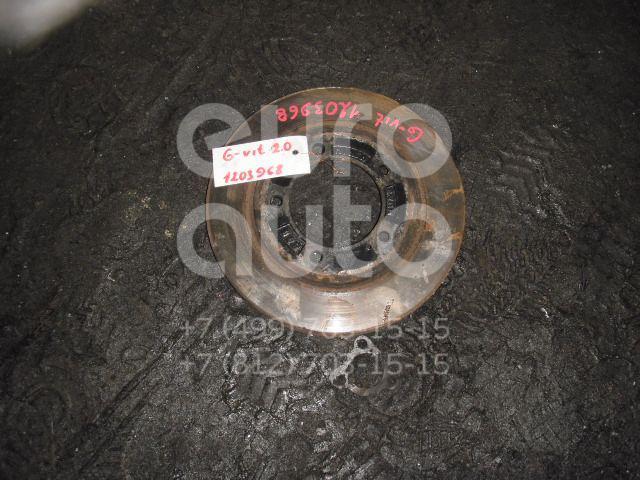 Диск тормозной передний вентилируемый для Suzuki Grand Vitara 1998-2005 - Фото №1