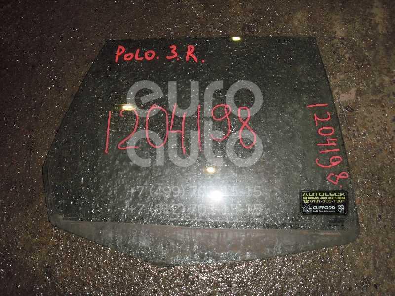 Стекло двери задней правой для VW Polo Classic 1995-2002 - Фото №1
