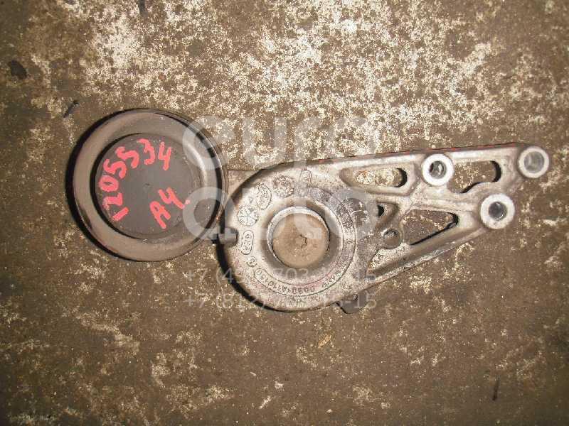 Ролик руч.ремня с кронштейном для VW A4 [B5] 1994-2000;A6 [C4] 1994-1997;Passat [B5] 1996-2000 - Фото №1